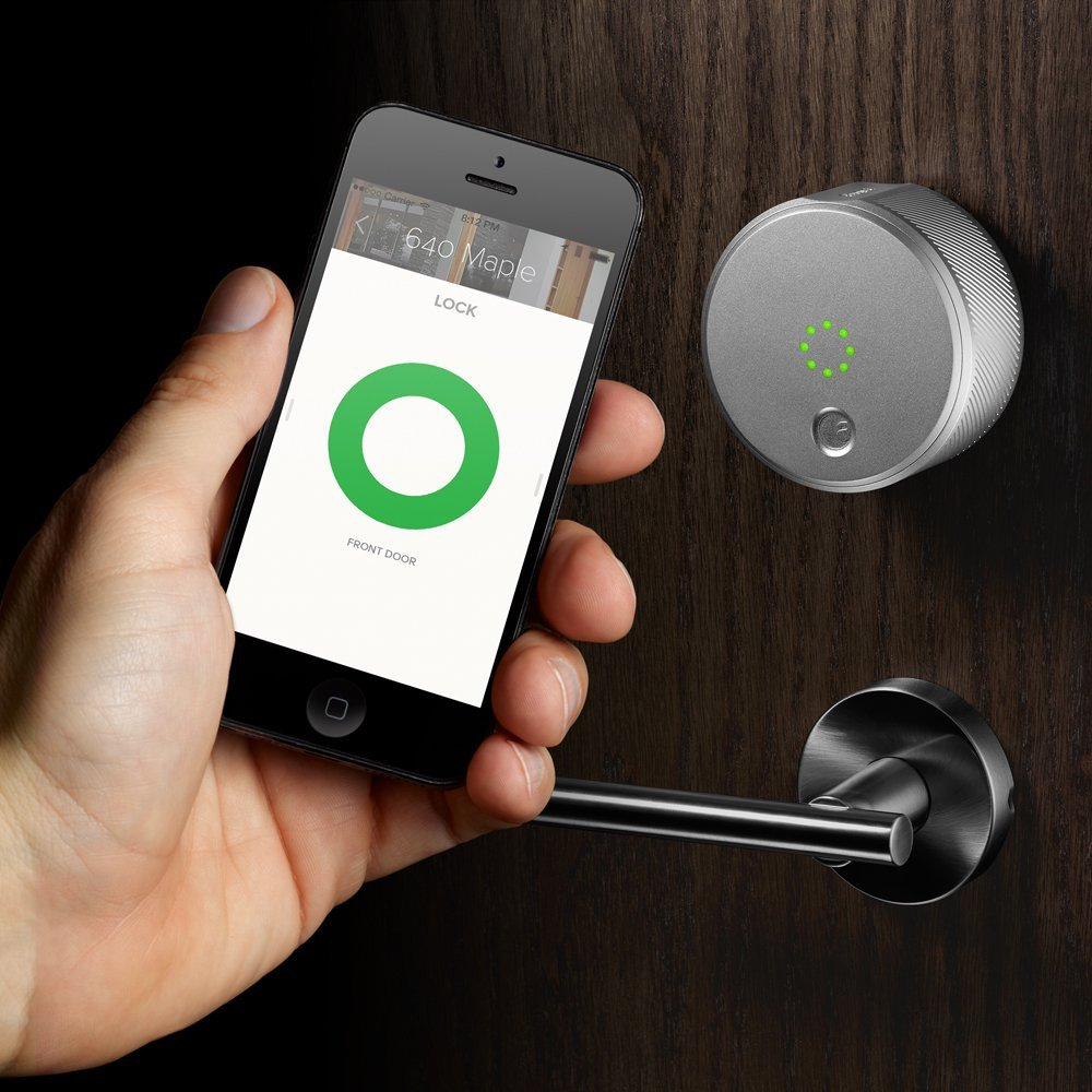 Smart Home Schloss Our Latest Gift Obsession August Smart Lock Simpleregistry