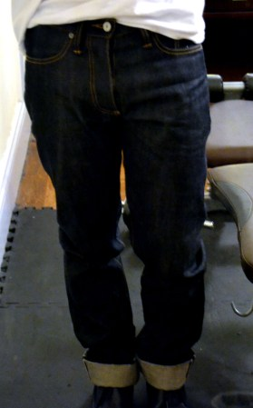 gustin1 Initial Impressions: Gustin Selvedge Raw Denim Jeans