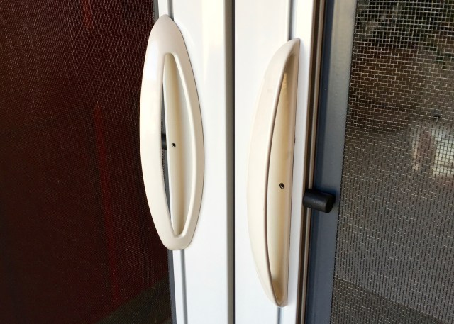 Let the fresh air in simple sojourns for Retractable screen door replacement magnet