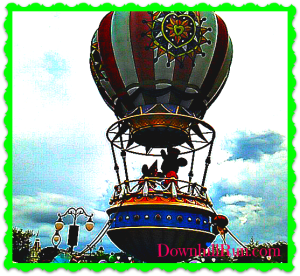 WW disney balloon