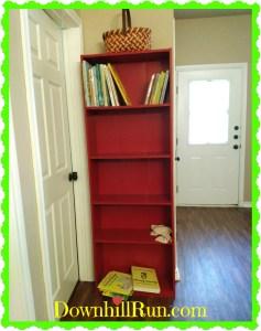 Bookshelf in process 2