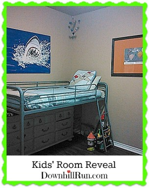 Kids room reveal after