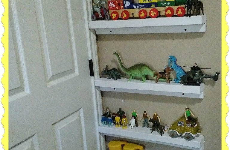 "Simple ""Secret"" Shelves"