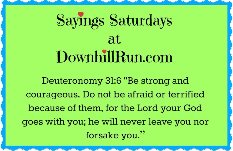 Sayings Saturdays – 6/11/2016