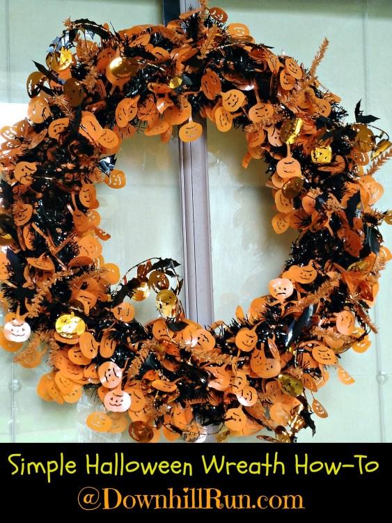 Halloween Wreath 7