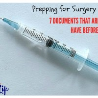 7 Documents That Are Good to Have Before Surgery