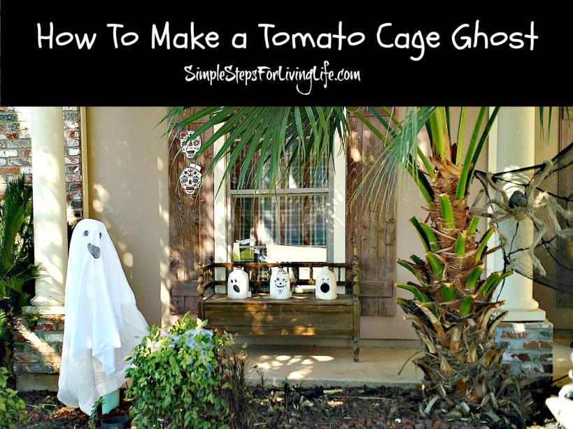 tomato cage ghost