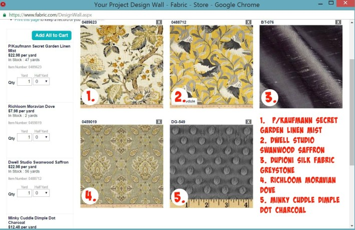 I love Fabric.com for my sewing projects!