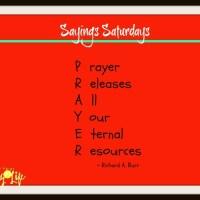 Sayings Saturdays – December 10th