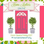 Home Matters Linky Party #122