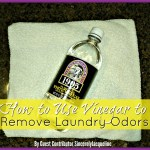 How to Use Vinegar to Remove Laundry Odors
