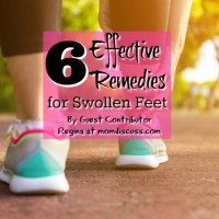 6 Effective Remedies for Swollen Feet