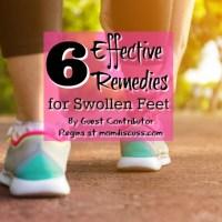 6 Effective Remedies for Swollen Feet