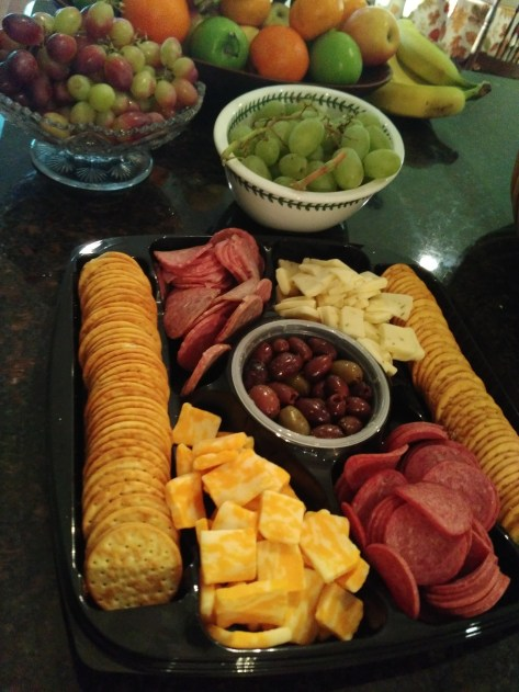 Foodie Friday Roundup:  Party platters and why I love them.