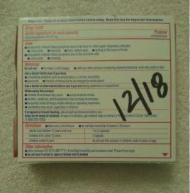 Easy way to identify medicine's expiration date