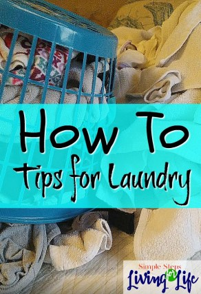 How To Laundry Tips