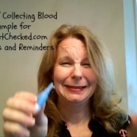 Collecting a Blood Sample for LetsGetChecked.com