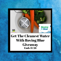 Get The Cleanest Water With Roving Blue Giveaway End 11/26
