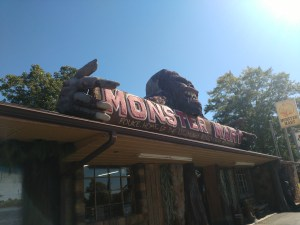 A roadside pit stop - Monster Mart in Fouke, Arkansas is a great roadside stop!