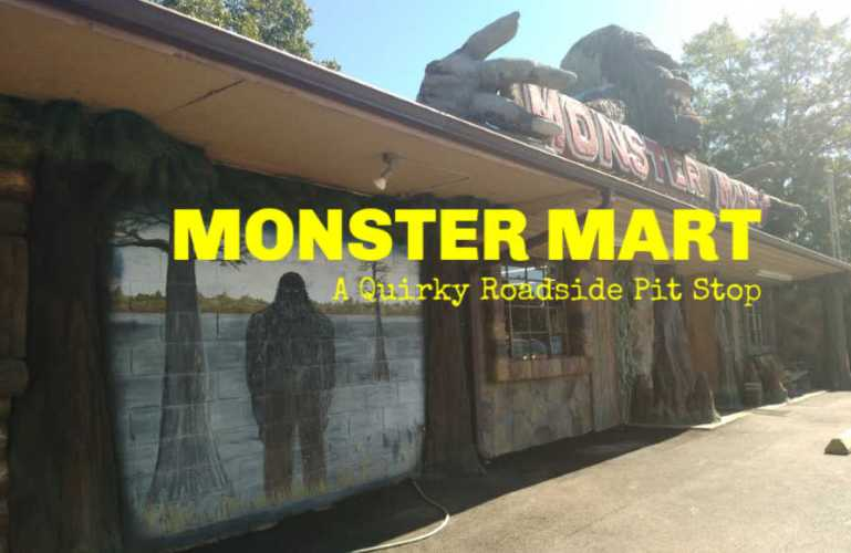A Quirky Roadside Pit Stop – Monster Mart