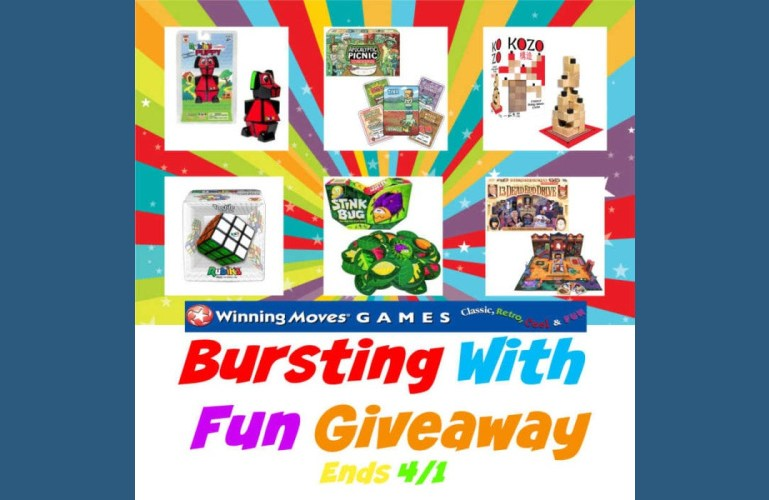 Bursting With Fun Giveaway – Ends 4/1