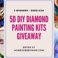 Diamond Paintings Giveaway (3 Winners) ~ Ends 6/20