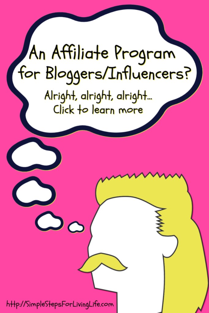 affiliate program for bloggers and influencers
