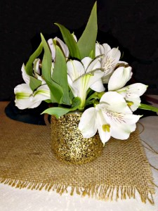 easy table decor with oui yogurt cups featured