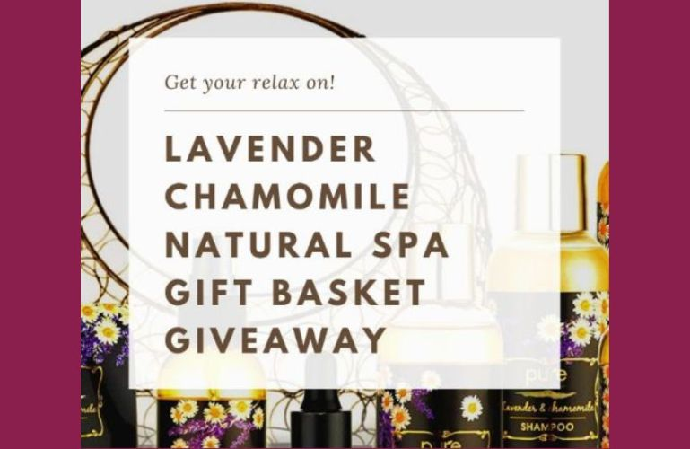 Natural Spa Basket Giveaway Ends 1/16