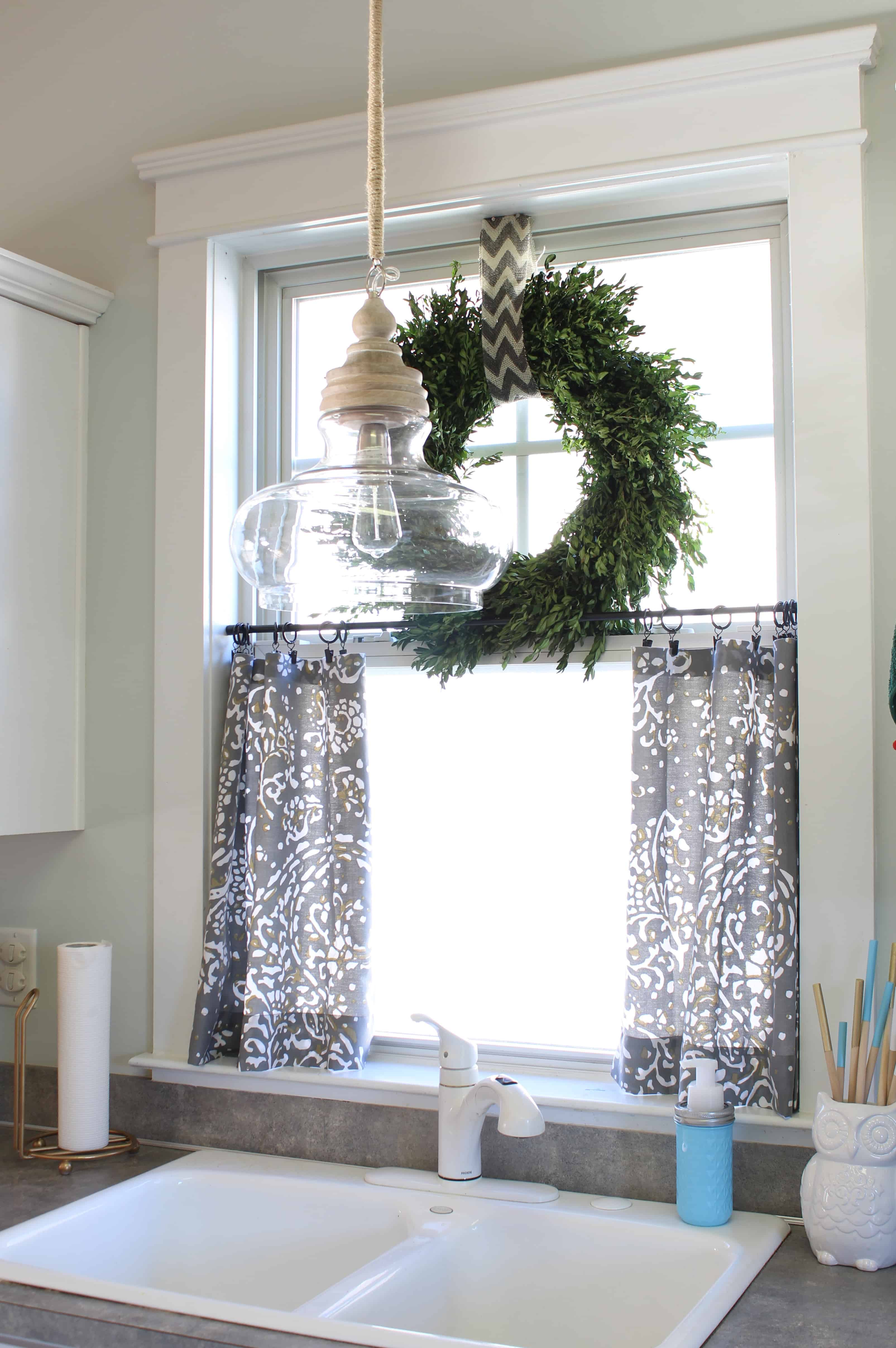 Spannende Fensterdeko Gardinen Ideen Erlene Window Treatments No Sew Cafe Curtains Day 22 Simple Stylings