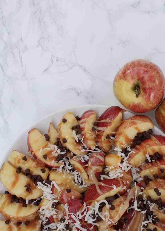 Fall Home Tour 2015 - Caramel Apple Nachos