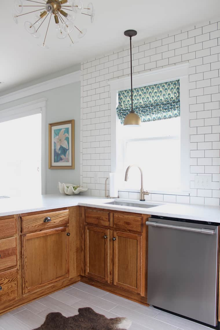 How To Update Kitchen Cabinets Updating A 90s Kitchen Without Painting Cabinets