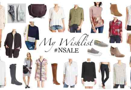 Nordstrom Anniversary Sale: My Wishlist
