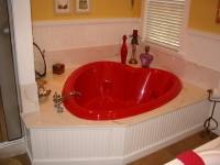 Round beds and heart shaped bathtubs