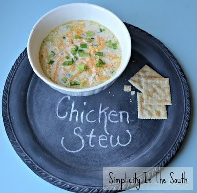Simple Southern Chicken Stew {A Favorite Fall Recipe}