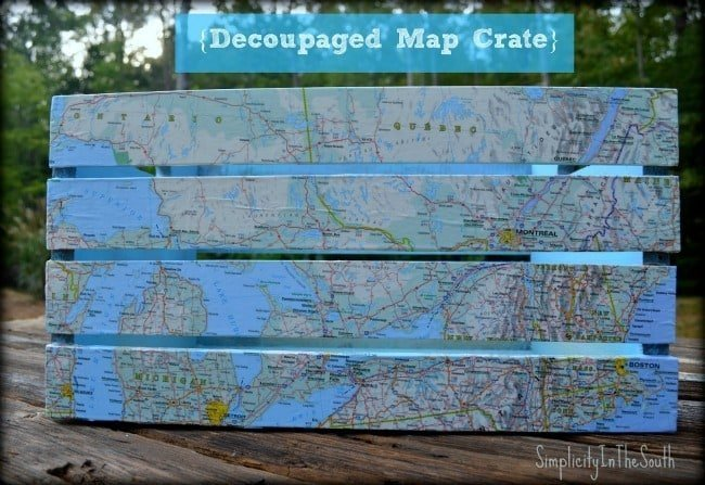 mod podge map crate