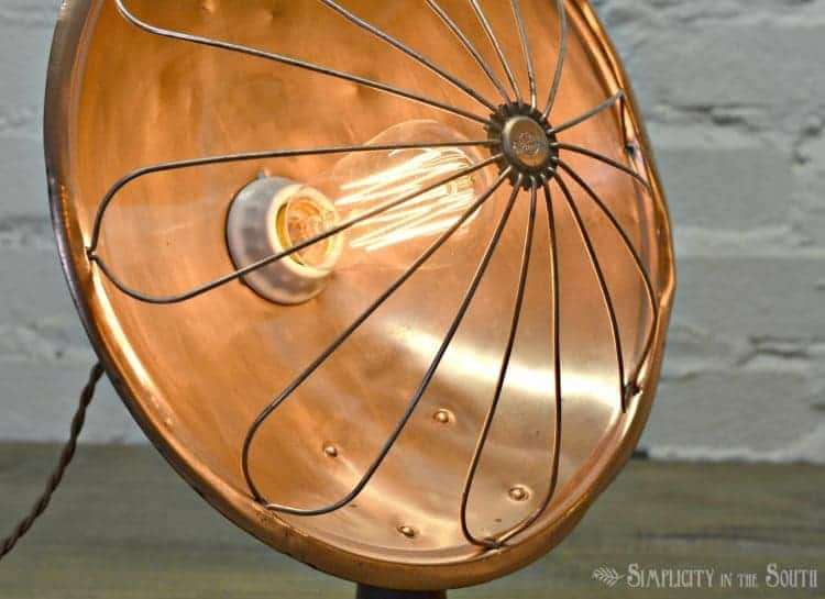 repurposing-an-old-heater-into-a-lamp