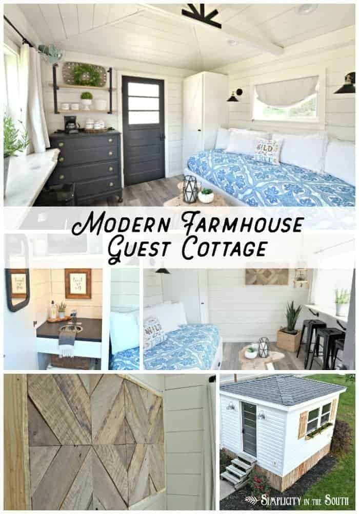 Modern Farmhouse Guest Cottage