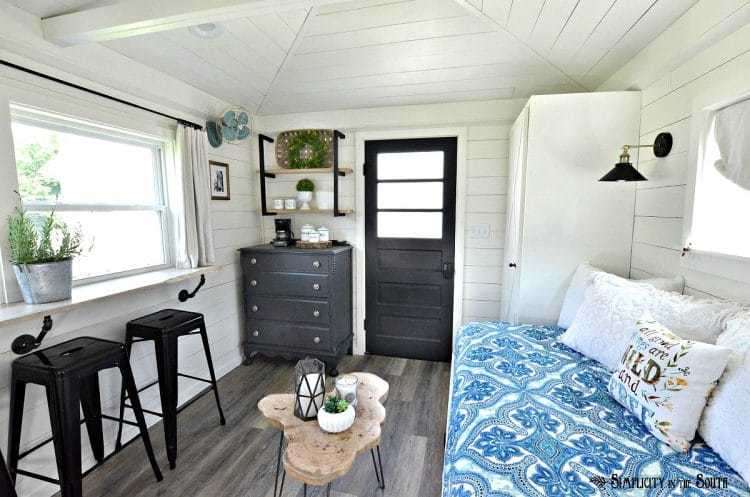 The cottage guest shed reveal 1
