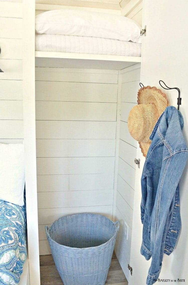 the cottage guest shed closet 2