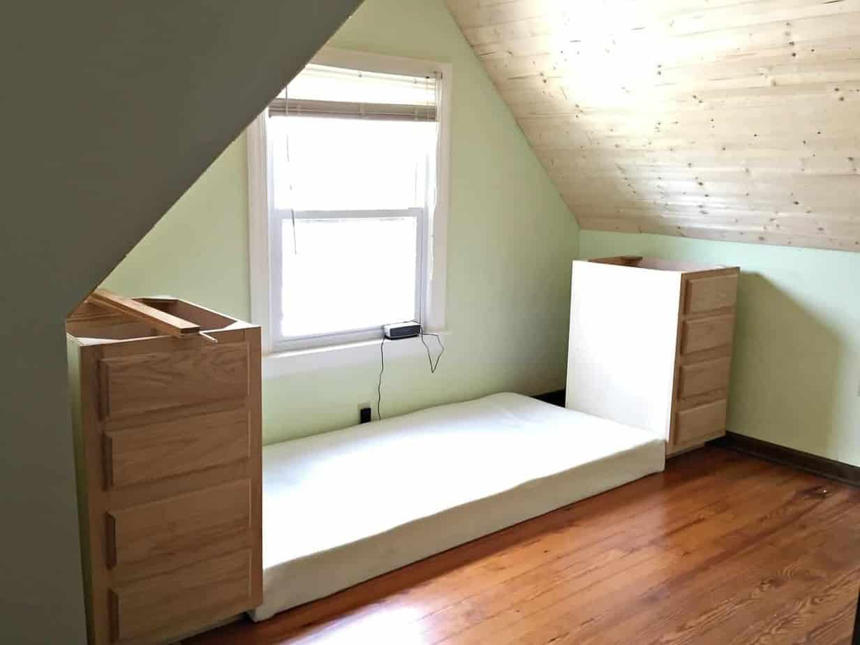 Built In Bed Nook How To Make A Built In Bed Using Kitchen Cabinets