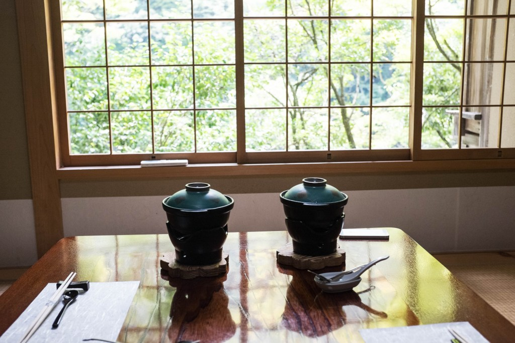 Shoraian is a gorgeous restaurant in Kyoto