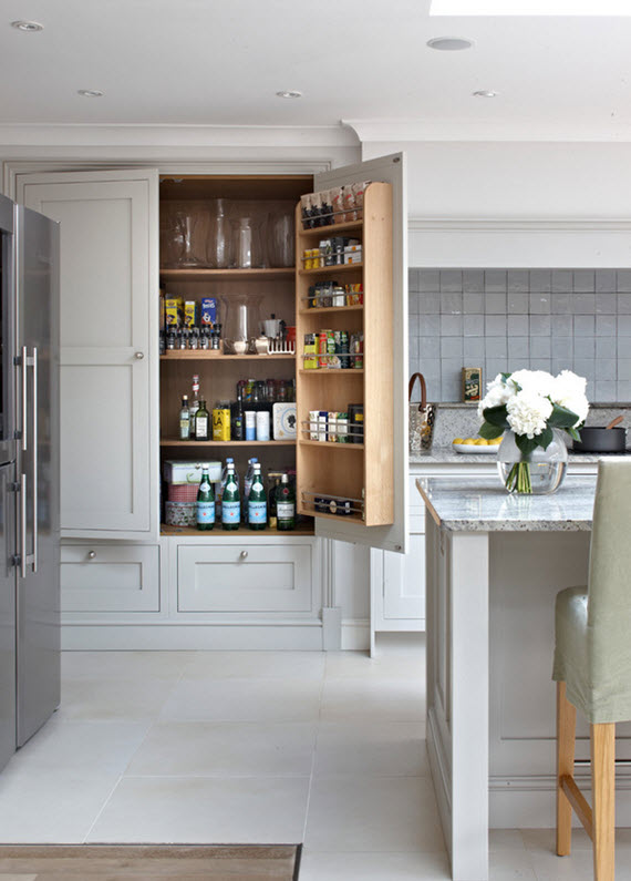 built pantry brayer design feel dark gray kitchen designed talented atlanta based kitchen