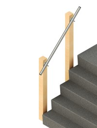 SR-570 - Wall Offset - Wall Mounted Handrail ...