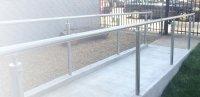 Outdoor and indoor handrail examples