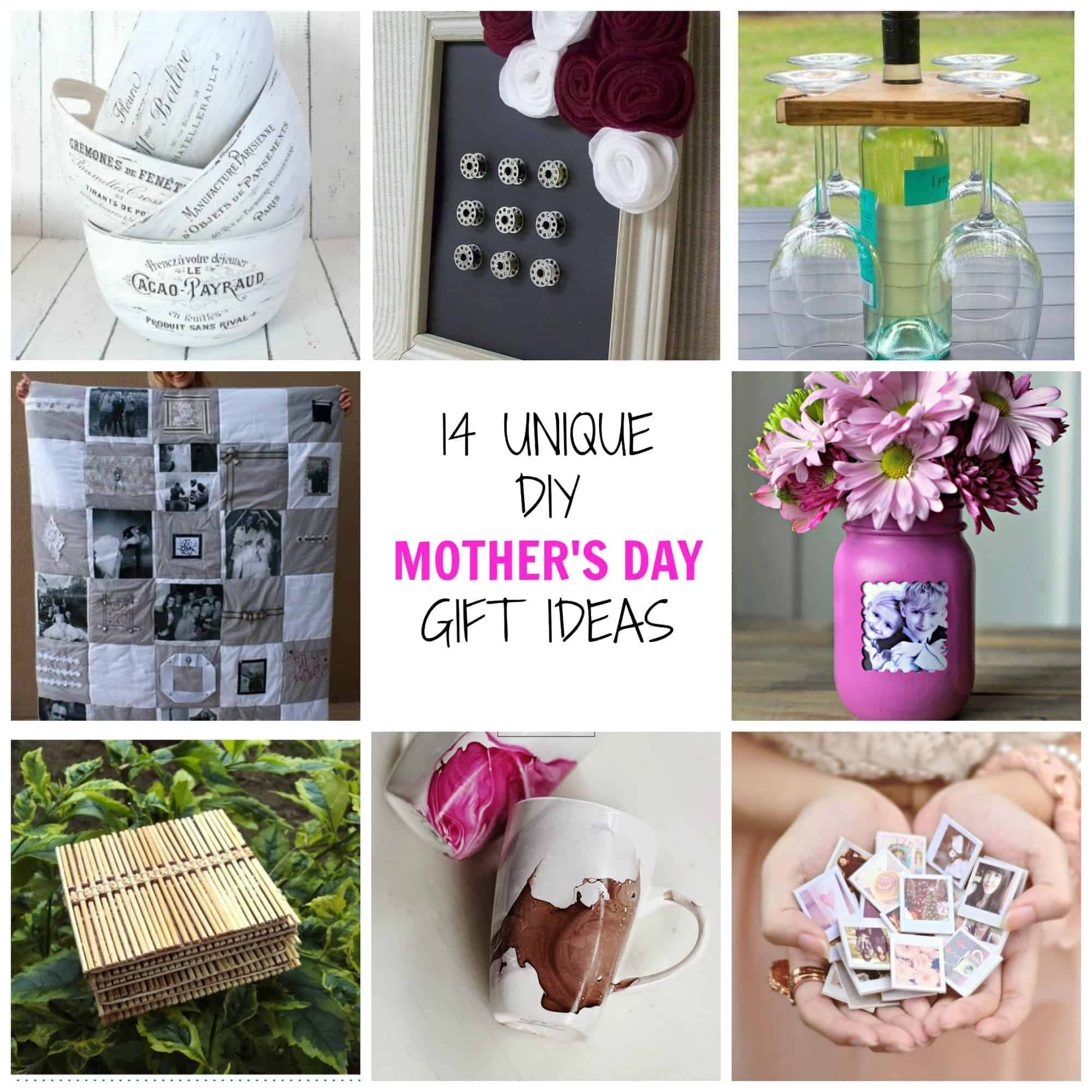 Diy Mothers Day Gifts From Baby 14 Unique Diy Mother 39s Day Gifts Simplify Create Inspire