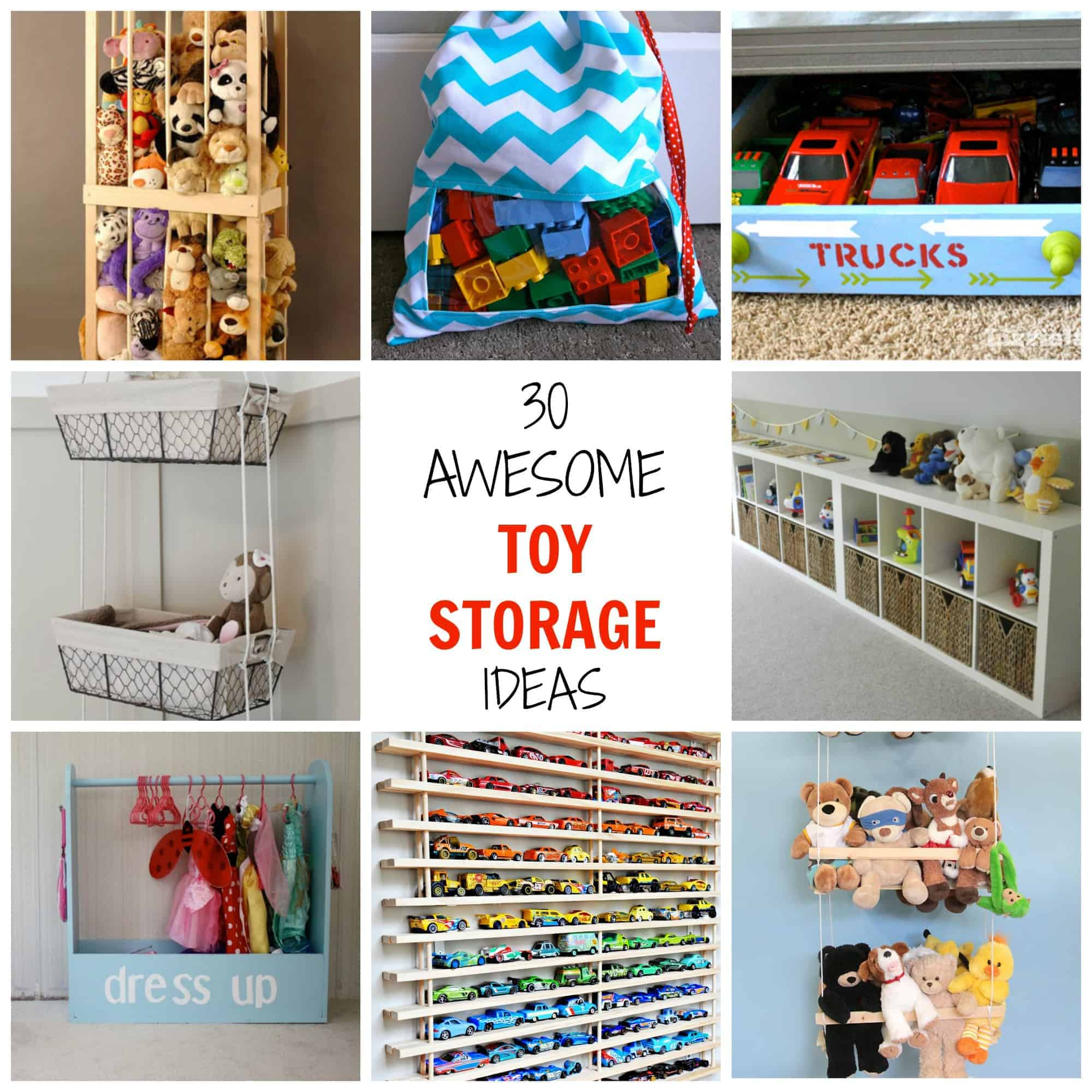 30 awesome toy storage ideas simplify create inspire - Storage ideas for toy room ...