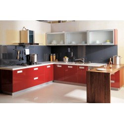 Small Crop Of Red Kitchen Cabinets