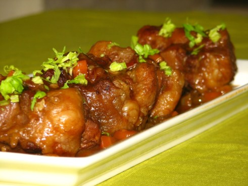 Slow Braised Oxtail