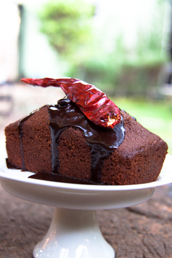 Choc-Chilli Cake